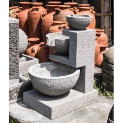 Fontaines de Bali, 3 niveaux reliés - Kaolan monde et jardins