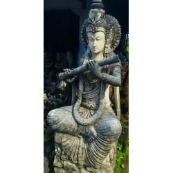 Statue divinité Kaolan monde et jardins