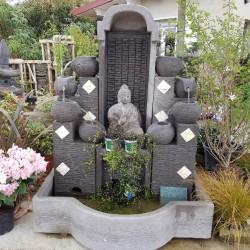 Fontaine de Bali 4 vasques et divinités