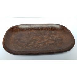 Assiettes en bois de coco